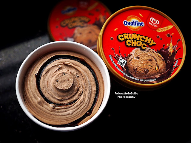 Enjoy The #CrunchyKawKaw Surprise That Now Comes In A  Wall's Ovaltine Crunchy Choc Pint