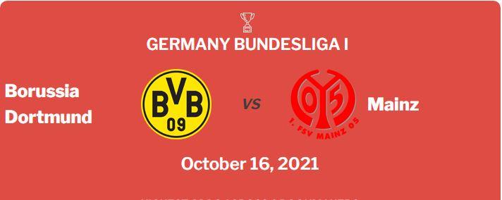 Dortmund vs Mainz Prediction, Odds & Betting Tips (16/10/21)