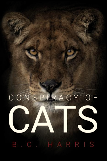 [Blog Tour] 'Conspiracy of Cats' by B.C Harris #Paranormal #Thriller