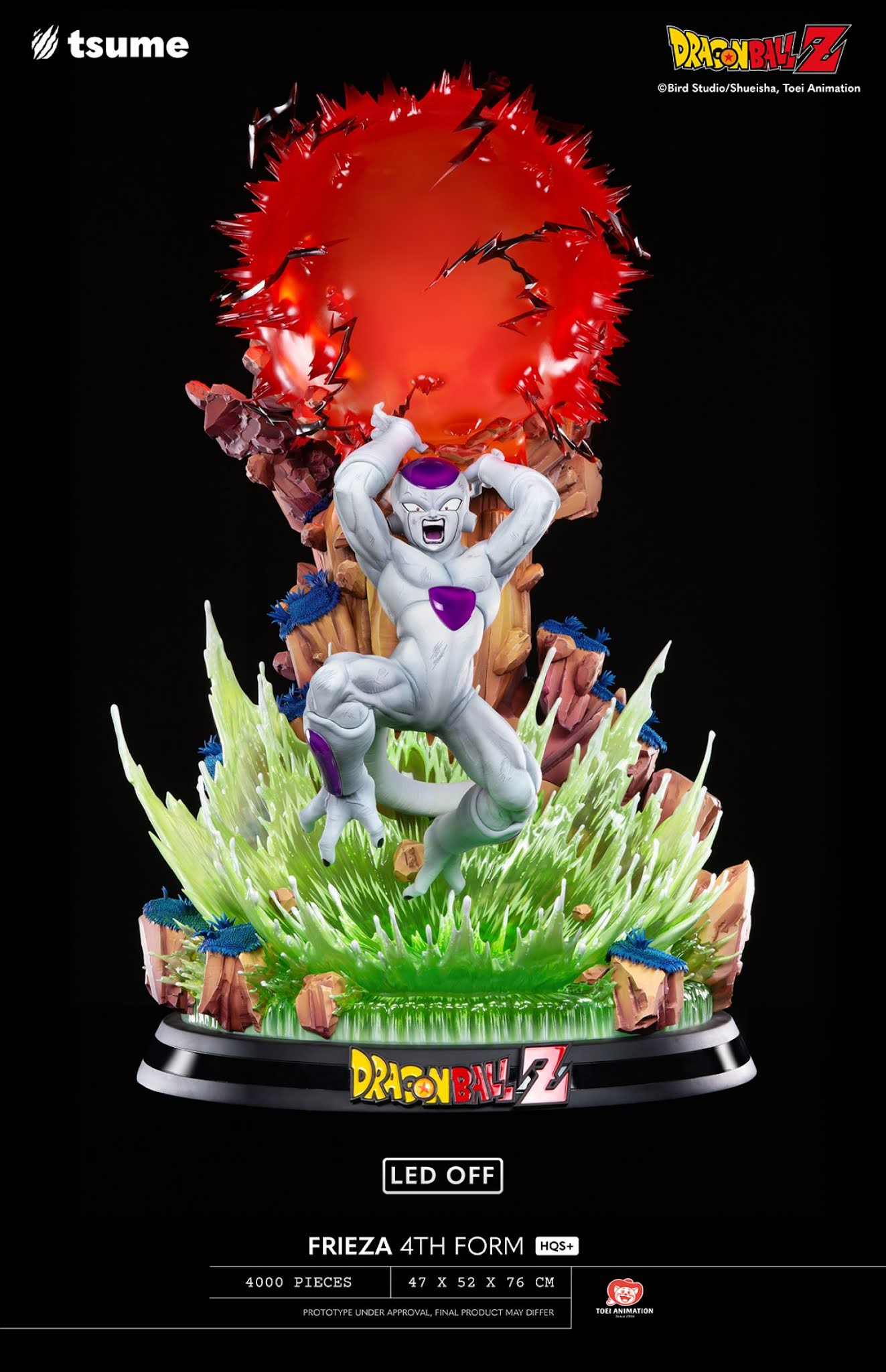 Figura Freezer Dragon Ball