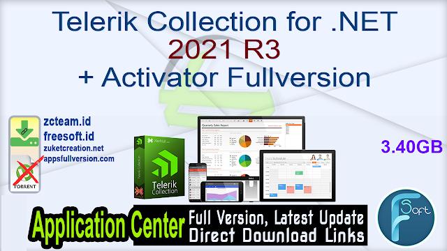 Telerik Collection for .NET 2021 R3 + Activator Fullversion
