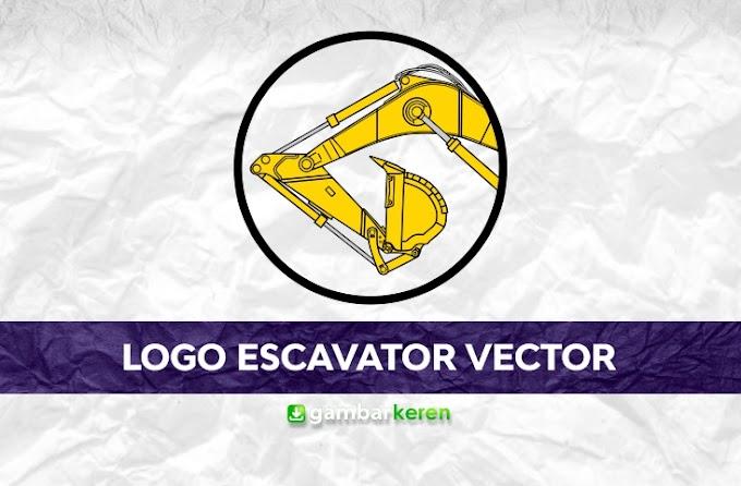 Logo Excavator Vector
