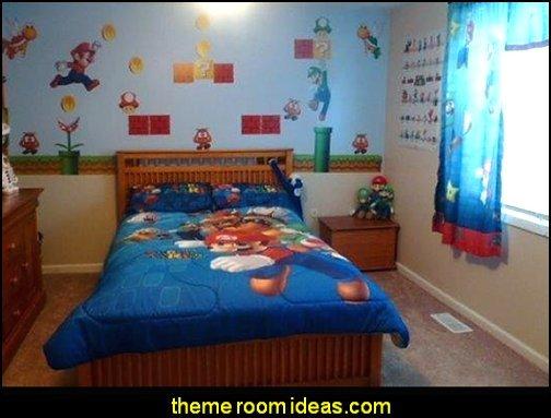 Super Mario Brothers Wall Stickers Super Mario Brothers Wall decor super mario bedroom