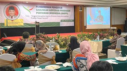 Pengukuhan Pengurus Gabungan Koperasi Produsen Pertanian Indonesia