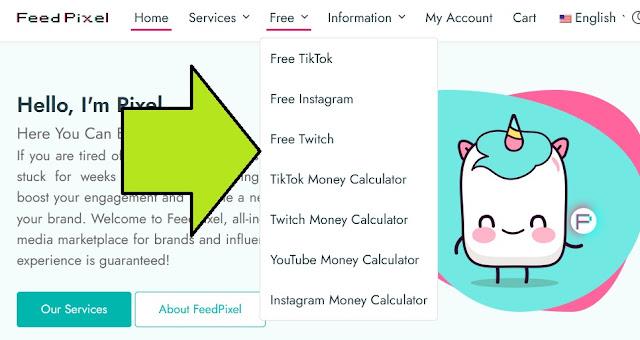 موقع رهيب لزيادة متابعي التيك توك والانستقرام والفيسبوك مجانا بدون تطبيقات