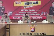 Polres Serang Siap Amankan Pilkades Serentak Kabupaten Serang 2021