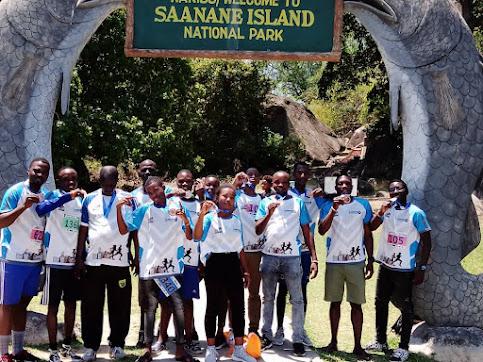 Washindi wa mbio za Rock city Marathon watembelea Kisiwa cha saa nane