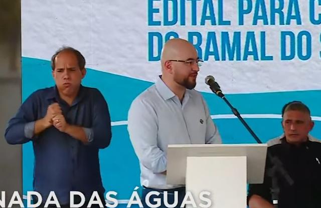 """Presidente do Banco do Nordeste manda recado: """"As cores do BNB são o verde e o amarelo"""""""