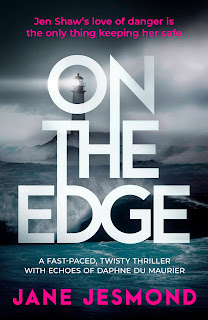 Front cover of On The Edge by Jane Jesmond