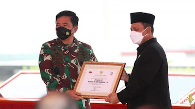 Gubernur Kepri H. Ansar Ahmad menghadiri peresmian Markas Kogabwilhan I, II dan III