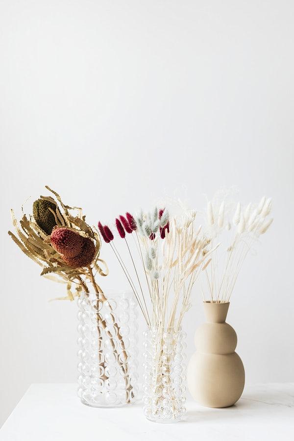suszone kwiaty do wazonu