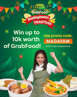 Celebrate Kadayawan FEASTival with Grab and Win P10,000 worth of GrabFood Vouchers