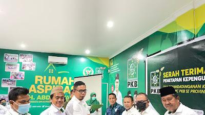 Kepengurusan PKB Pelalawan Periode 2021 - 2026 Terima SK Dari DPP PKB
