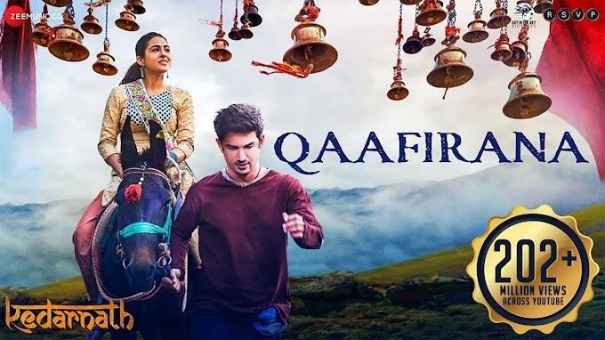 काफ़िराना सा है Qaafirana Sa Hai Lyrics - Arijit Singh, Nikhita Gandhi | KEDARNATH