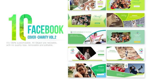 ảnh bìa từ thiện facebook