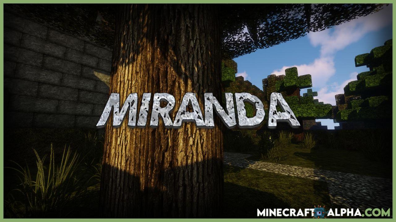 Minecraft Miranda Resource Pack For 1.17.1