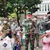 Danrem 061/Sk Santuni Ratusan Anak Yatim  Memperingati Idul Yatama (Lebaran Yatim) 10 Muharram 1443 H