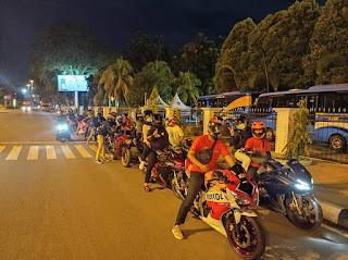 Memandang serunya kopdar Komunitas Honda Cbr Independent di Kalimantan Barat