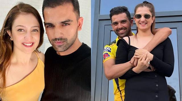 दीपक चाहर ने स्टेडियम में ही किया गर्लफ्रेंड को प्रपोज, दिल्ली की रहने वाली हैं Splitsvilla के विनर की बहन