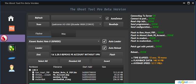 Qualcomm MTK Ghost Tool Pro Latest Beta Setup Unlock Tool