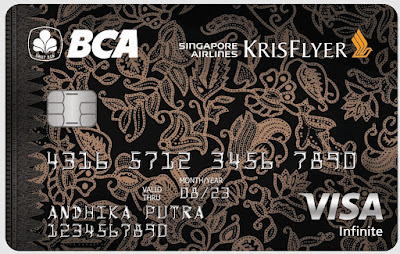 BCA Singapore Airlines KrisFlyer Infinite