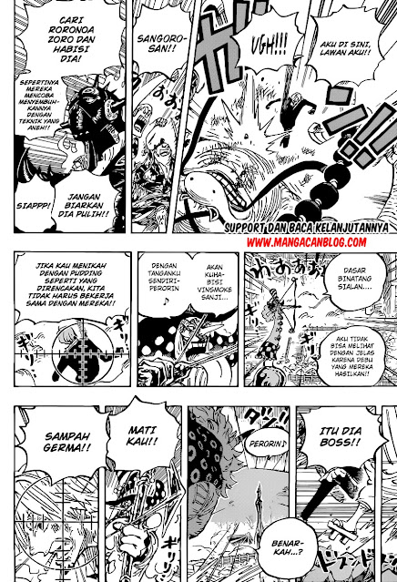 Manga One Piece Chapter 1022 Bahasa Indonesia