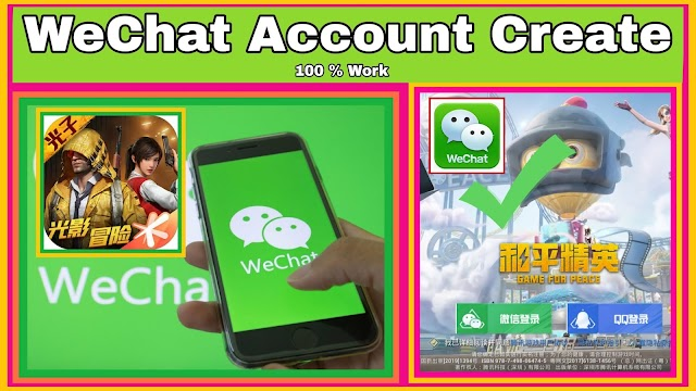 How To Create WeChat Account || Wechat Account Kaise Bnaye