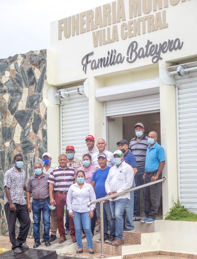 Consorcio Azucarero Central realiza donación a Funeraria de Villa Central .-