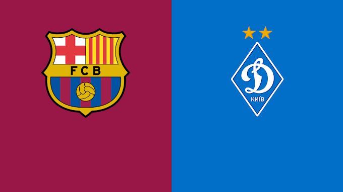 مشاهدة مباراة برشلونة ودينامو كييف بث مباشر اليوم 20/10/2021 دوري ابطال اوروبا