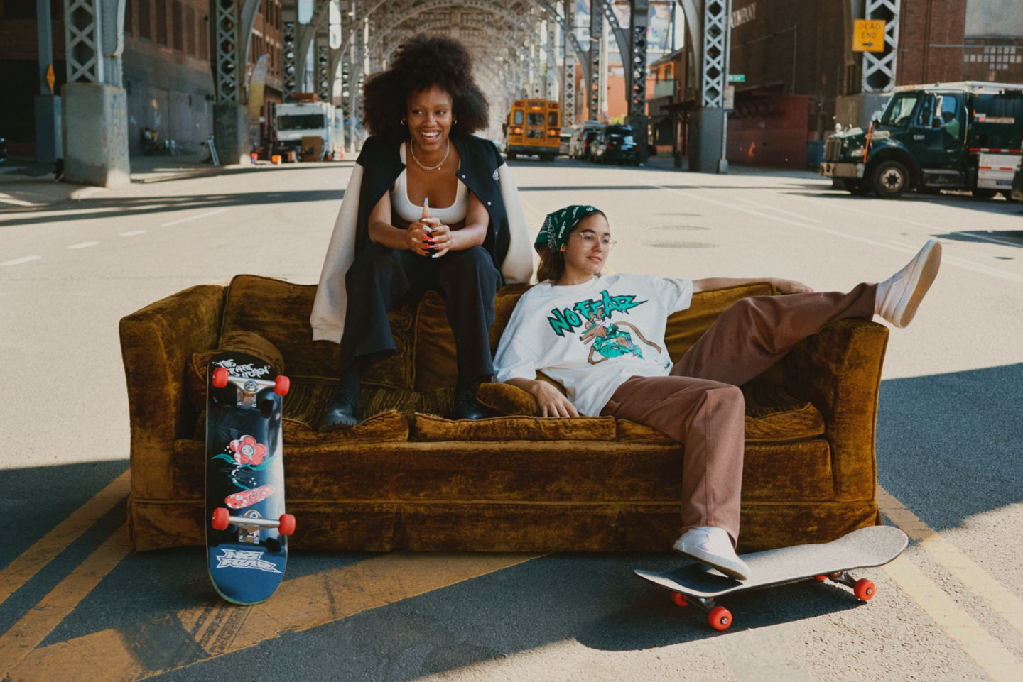 H&M collaborates with No Fear and The Skate Kitchen