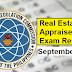 September 2021 Real Estate Appraiser Board Exam Result