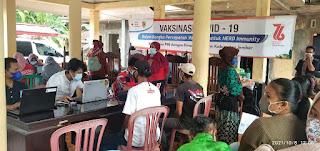 Vaksinasi, PMI Blusukan ke Daerah Pinggiran