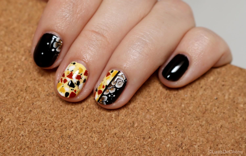 nail-art-terrazzo-one-stroke-fleur