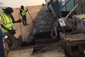 مؤسسة ETER تعلن عمليات لترقيع 10 كلم من طريق نواكشوط -نواذيبو