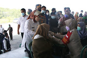 Update, 834.694 Warga Kabupaten Serang sudah Divaksin
