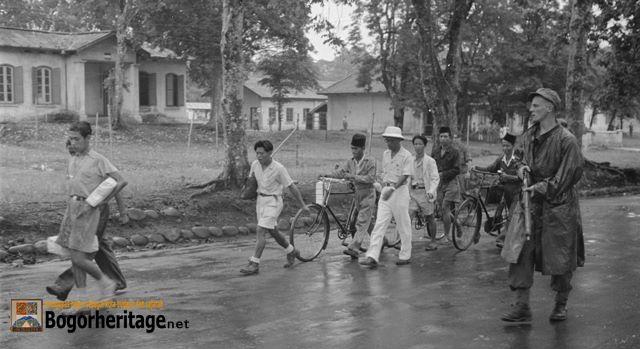 Bogor pada tahun 1945