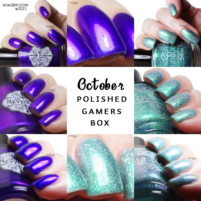 xoxoJen's swatch of Polished Gamers Box: October 2021