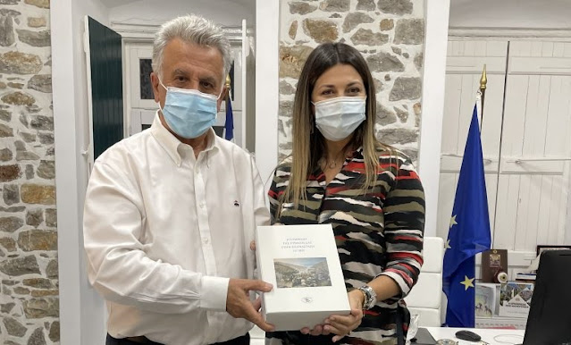 Η Υφυπουργός Τουρισμού Σοφία Ζαχαράκη επισκέφτηκε το Δήμο Ερμιονίδας