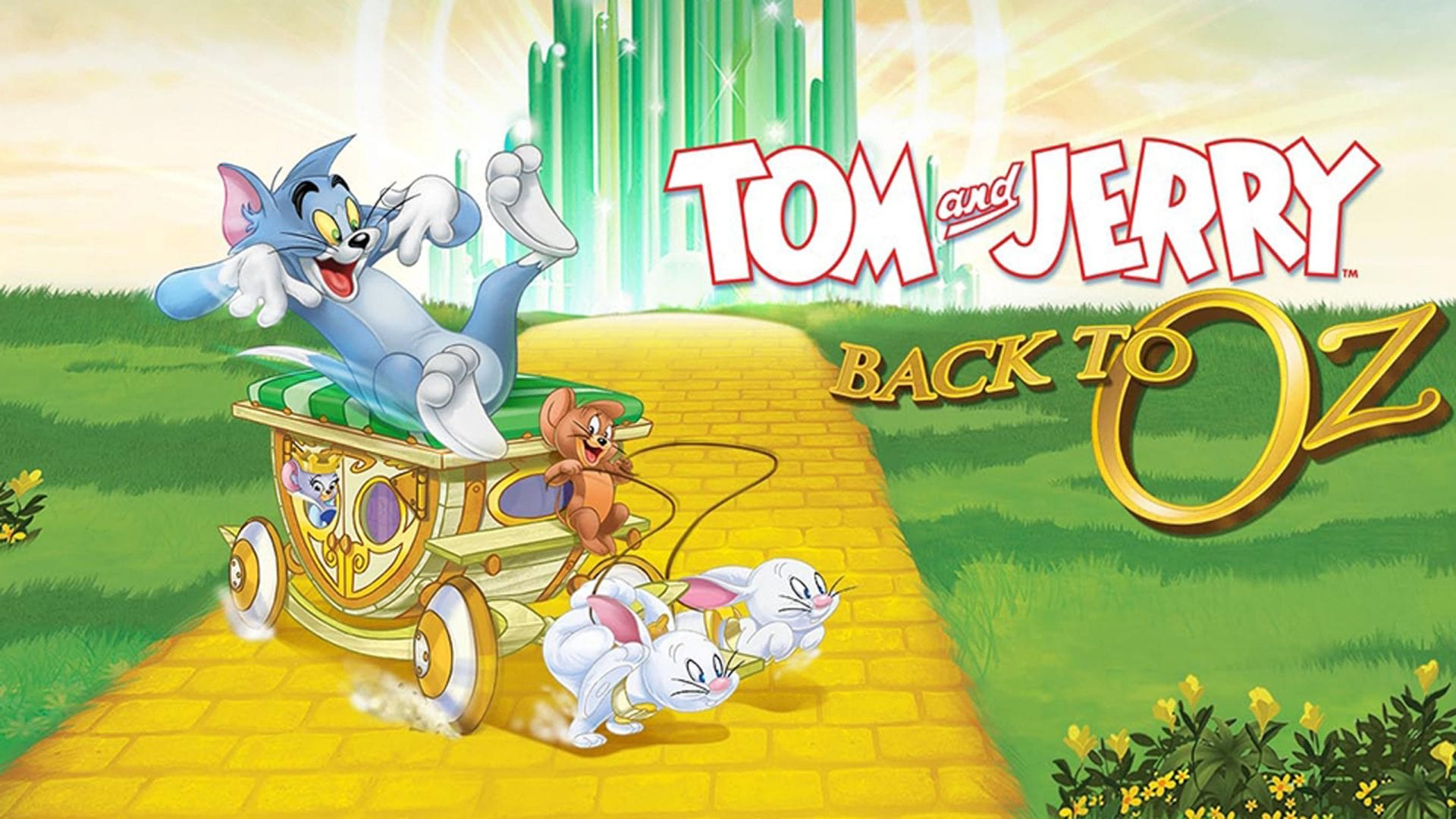 Tom & Jerry: Back to Oz (2016) Hindi-Eng Dual Audio Download 480p, 720p & 1080p HD