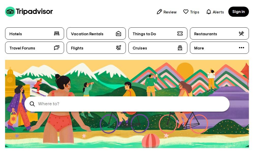Tripadvisor - Best 10 Hotel Booking App In India 2021 - Techmexo.com
