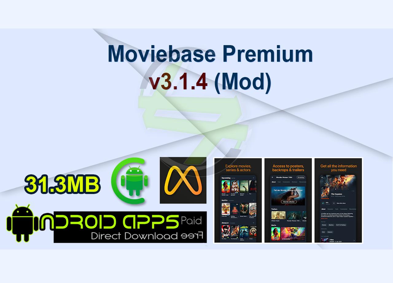 Moviebase Premium v3.1.4 (Mod)
