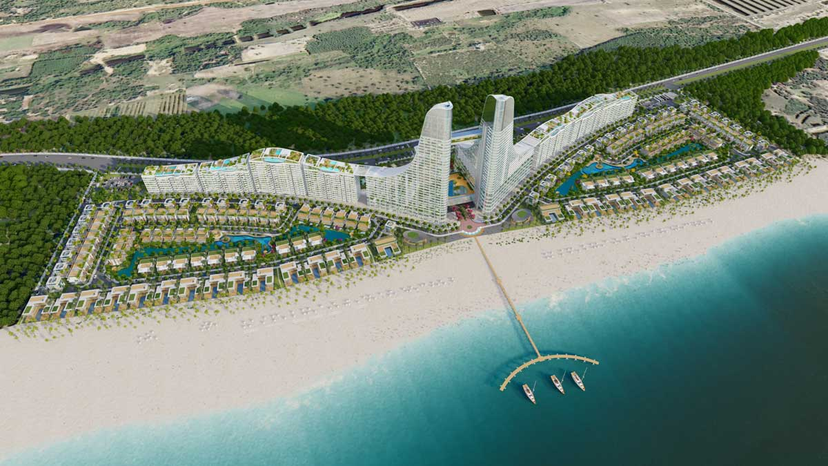 thông tin dự án charm Hồ Tràm resort
