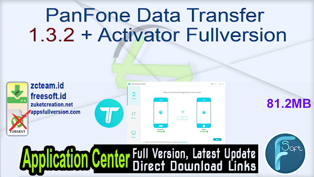 PanFone Data Transfer 1.3.2 + Activator Fullversion