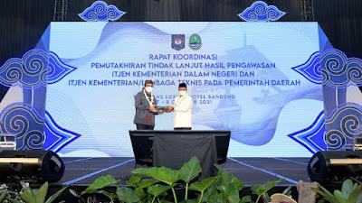 Pemda Provinsi Jabar Komitmen Tindaklanjuti Rekomendasi APIP