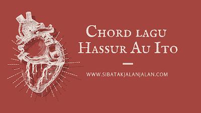 chord lagu batak hassur au ito permata trio 2021
