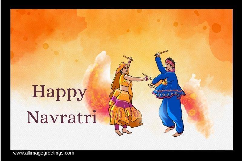 Navratri wish image
