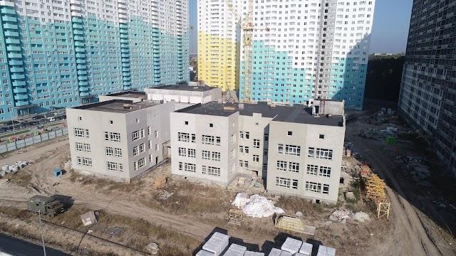 В Новосілках триває будівництво дошкільного навчального закладу