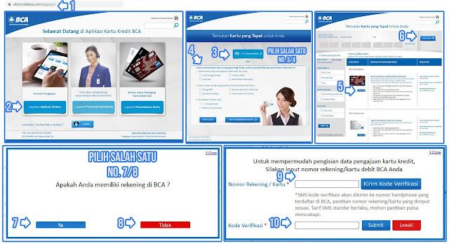 Pengajuan Kartu Kredit BCA Online