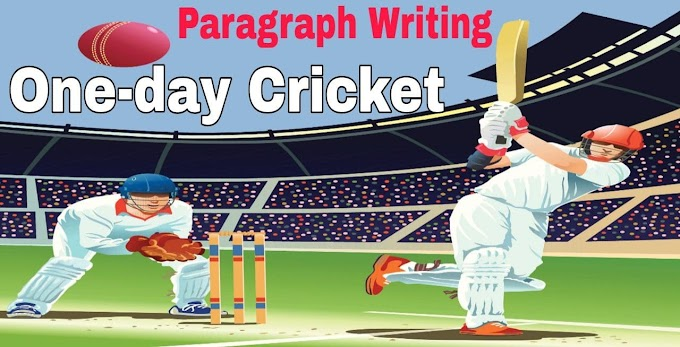 One Day Cricket Paragraph Writing