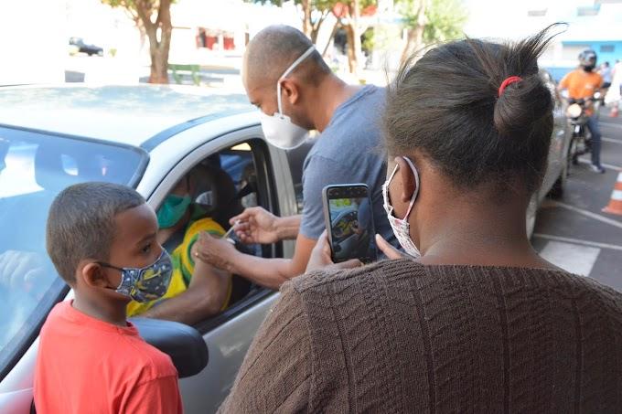 Birigui promove novo 'Dia V' de vacinação contra covid-19 neste sábado (16) no drive da Rodoviária